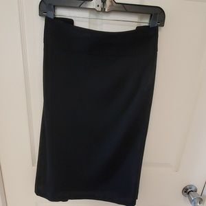 Lane Bryant Black knit skirt